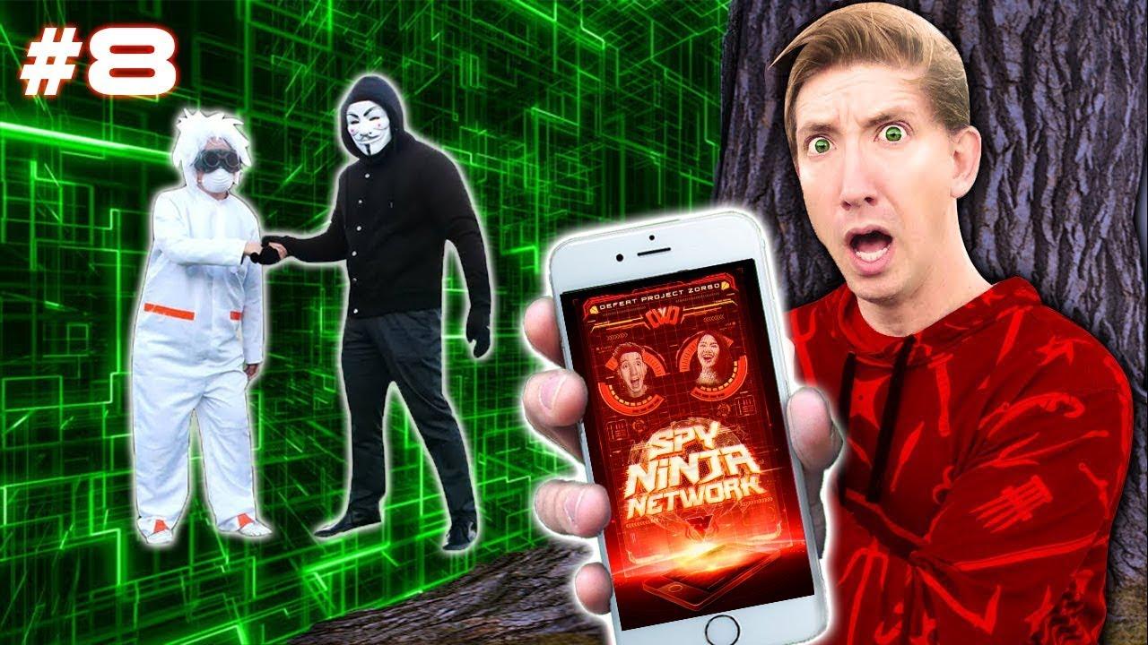 CHAD WILD CLAY Spy Ninja Network HACKER Decoder Makeover (Project Zorgo Back To The Future)