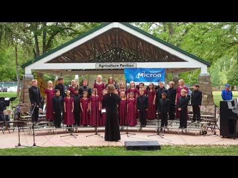 Opera Idaho Childrens' Chorus - Music in the Park Part 1 - Boise Music Week 2018