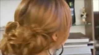Женские прически. ПРИЧЕСКА ЗА 15 МИНУТ ДЛЯ ВОЛОС СРЕДНЕЙ ДЛИНЫ. Прически на средние волосы.