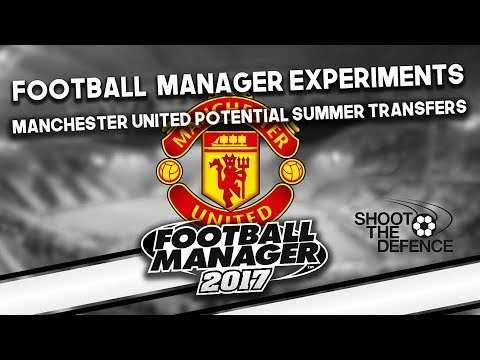 Football Manager Experiment: Manchester United's  transfer targets