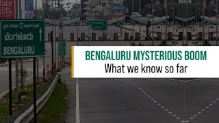 Banglore Today Mysterious Sonic Sound   Boom Sound