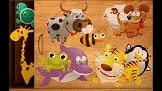 Let's Play • 384 Układanki dla dzieci • po Polsku, Nauka zwierząt, odgłosy, bajka, Gry dla dzieci