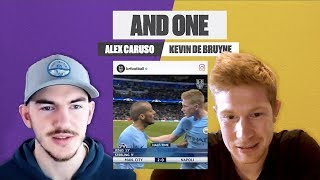 "Kevin De Bruyne On ""Let Me Talk"", Manchester City and NBA with LA Laker Alex Caruso 