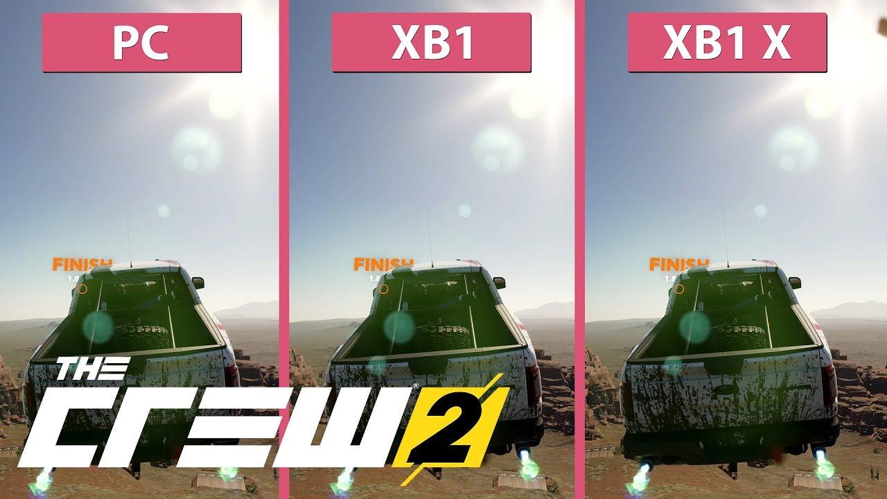 4k the crew 2 pc max vs xbox one vs xbox one x. Black Bedroom Furniture Sets. Home Design Ideas
