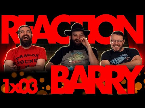 Barry 1x3 REACTION!!