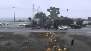 GTA 5 PC 60fps Slow Motion Explosions