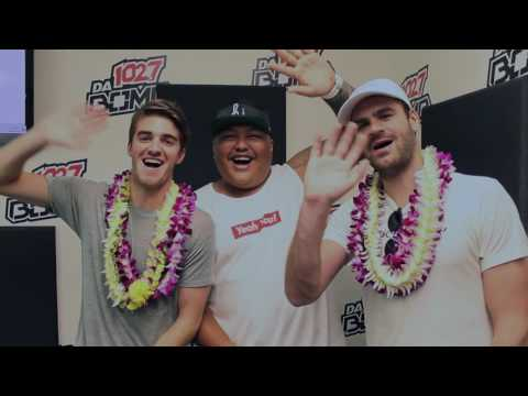 The Chainsmokers and The Steezy Experience on 102.7 da BOMB
