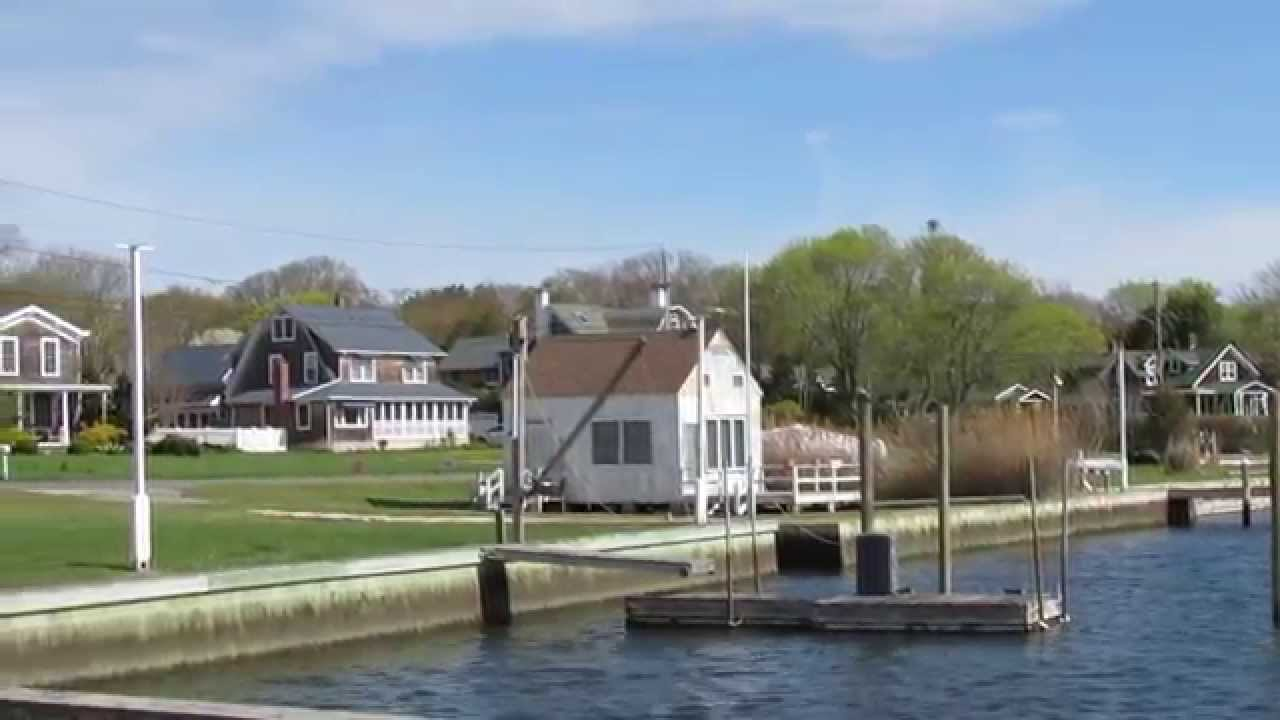 View From The Town Dock At Lake Avenue In Center Moriches