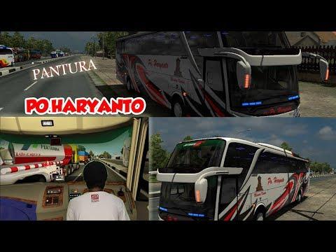 jalan bareng PO HARYANTO in pantura // ETS2 mod Indonesia