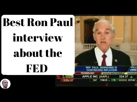Best Ron Paul interview about the FED