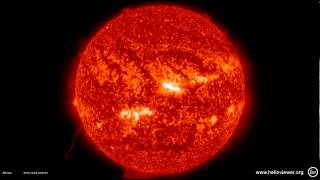 Increased solar activity - Timeline of events - October 25  - 27, 2013
