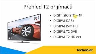 DVB-T2 přijímače TechniSat pro ČR - stručný přehled