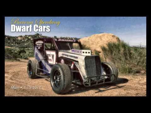 Barona Speedway Dwarf Cars Main • 7-15-2017