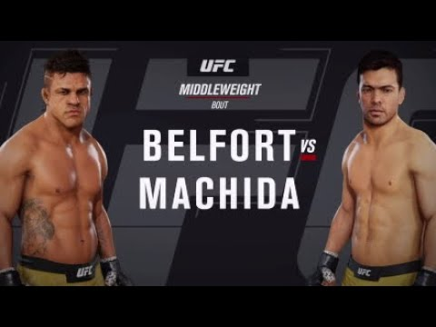 Vitor Belfort Vs. Lyoto Machida (EA Sports UFC 3) - CPU Vs. CPU