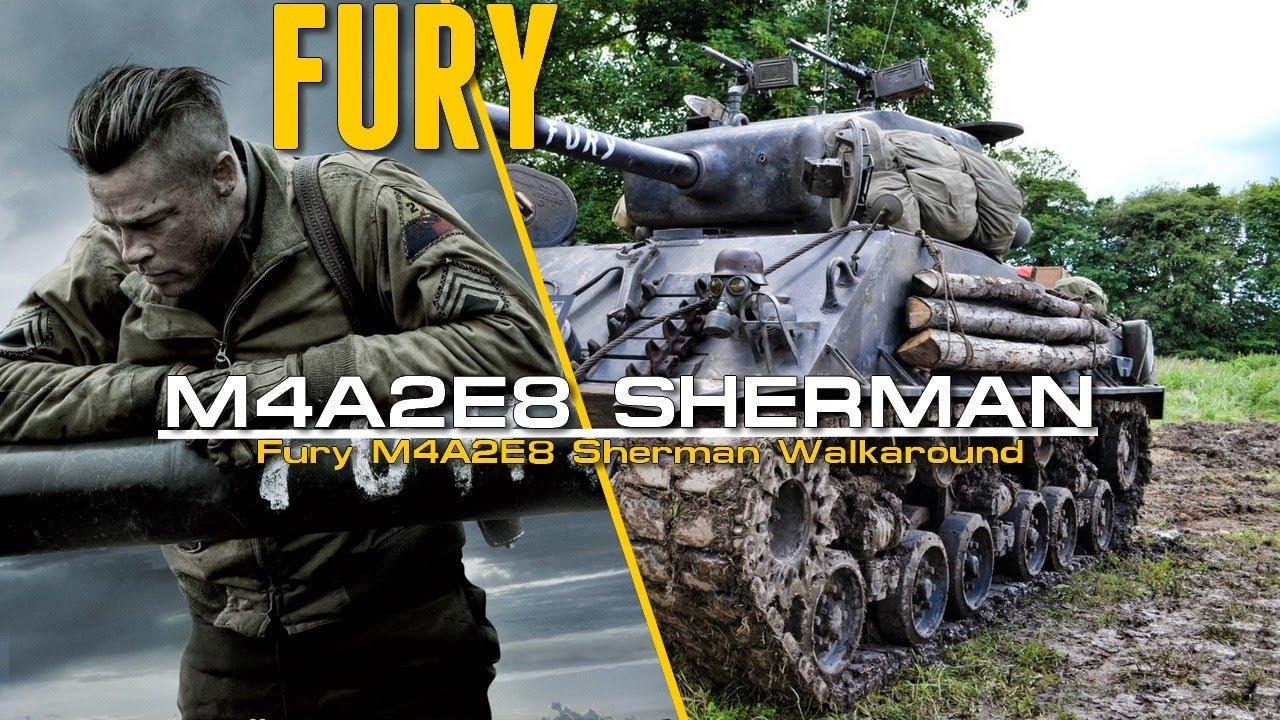 Fury M4A3E8 Sherman Walkaround - Sherman from the movie Fury 2014