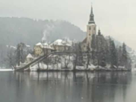 Lake Bled Slovenia February 22 2010