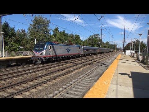 Northeast Corridor Action at Hamilton 9/22/17 Part 2