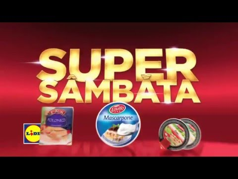 Super Sambata la Lidl • 12 Martie 2016