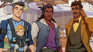 DREAM DADDY: A DAD DATING SIMULATOR | HUNIEPOP BUT WITH DADS?!