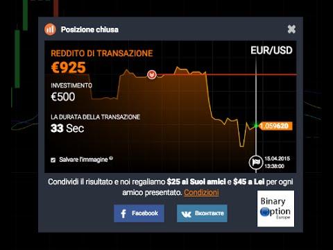 Segnali di trading di pocket option