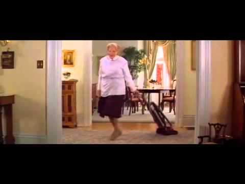 Mrs Doubtfire Cleaning Scene Youtube