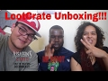 MERCURY'S HOWL!!! -LootCrate Revolution February 2017 Crate Unboxing (ft. Mercury Wolff)