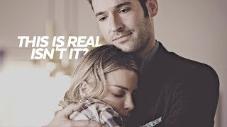 ❝ this is real, isn't it? ❞ | lucifer: lucifer + chloe