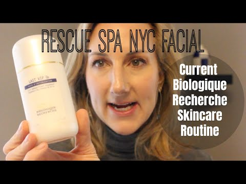 "My Rescue Spa-NYC- 'Fix-It-All"" Facial Experience + Updated Biologique Recherche Skincare Routine"