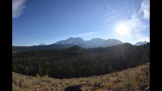 24 Hour Mountain Time Lapse Video