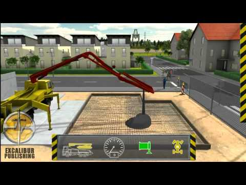 Construction Simulator by Excalibur Publishing - Official PC Trailer [HD]