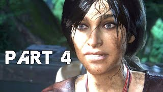 UNCHARTED THE LOST LEGACY Walkthrough Gameplay Part 4 - Great Battle (PS4 Pro)