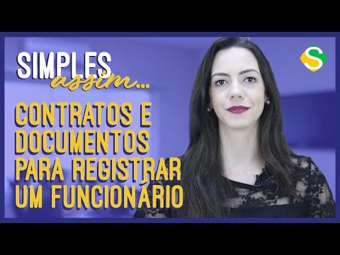Tipos de Contratos e Documentos para Registrar um Funcionário