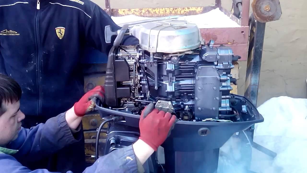Лодочный мотор ямаха 2 л. с. yamaha 2CMHS. Мотор легенда!!! - YouTube