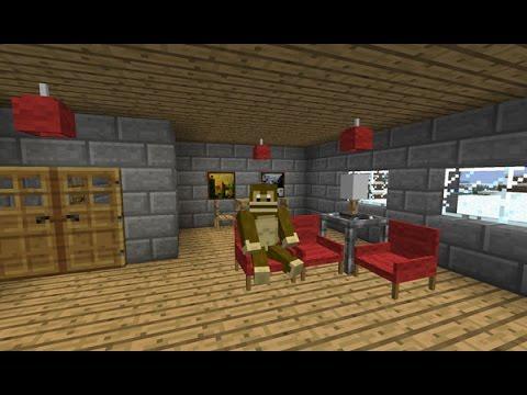 Minecraft en como hacer muebles modernos youtube for Como hacer muebles de sala