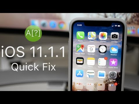 iOS 11.1.1 is Out! - Whats New?