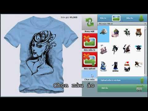 Hướng dẫn cách in tranh vẽ lên áo - gecko.vn