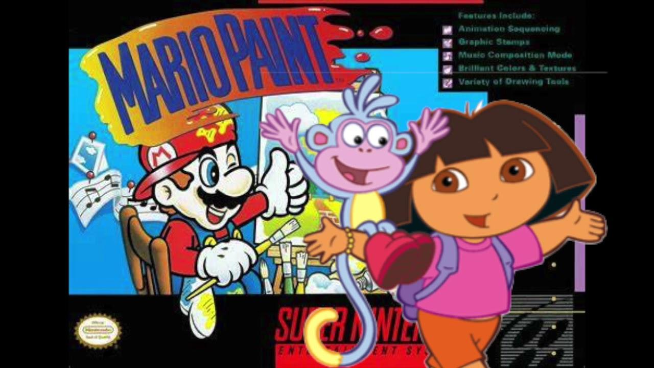 Download Dora The Explorer: Travel Song - Mario Paint Compsoer