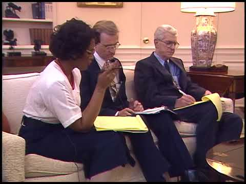 President Reagan's Interview with White House Newspaper Correspondents on April 28, 1987