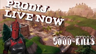 Fortnite Season 5 Grind| Battle Pass Giveaway at 100 Subs| Decent player| 5,000+Kills