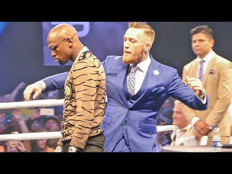 Thumbnail: Conor McGregor MOCKS Floyd Mayweather BEHIND HIS BACK At London Tour