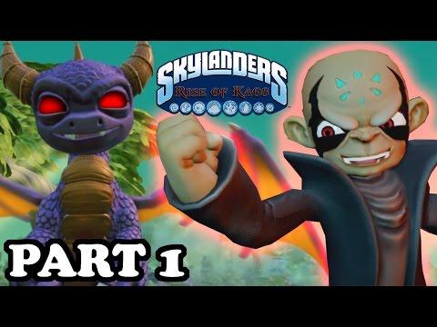 Skylanders: Rise of Kaos - Lord Kaos meets HIS KAOS CLONE - Part 1 Walkthrough