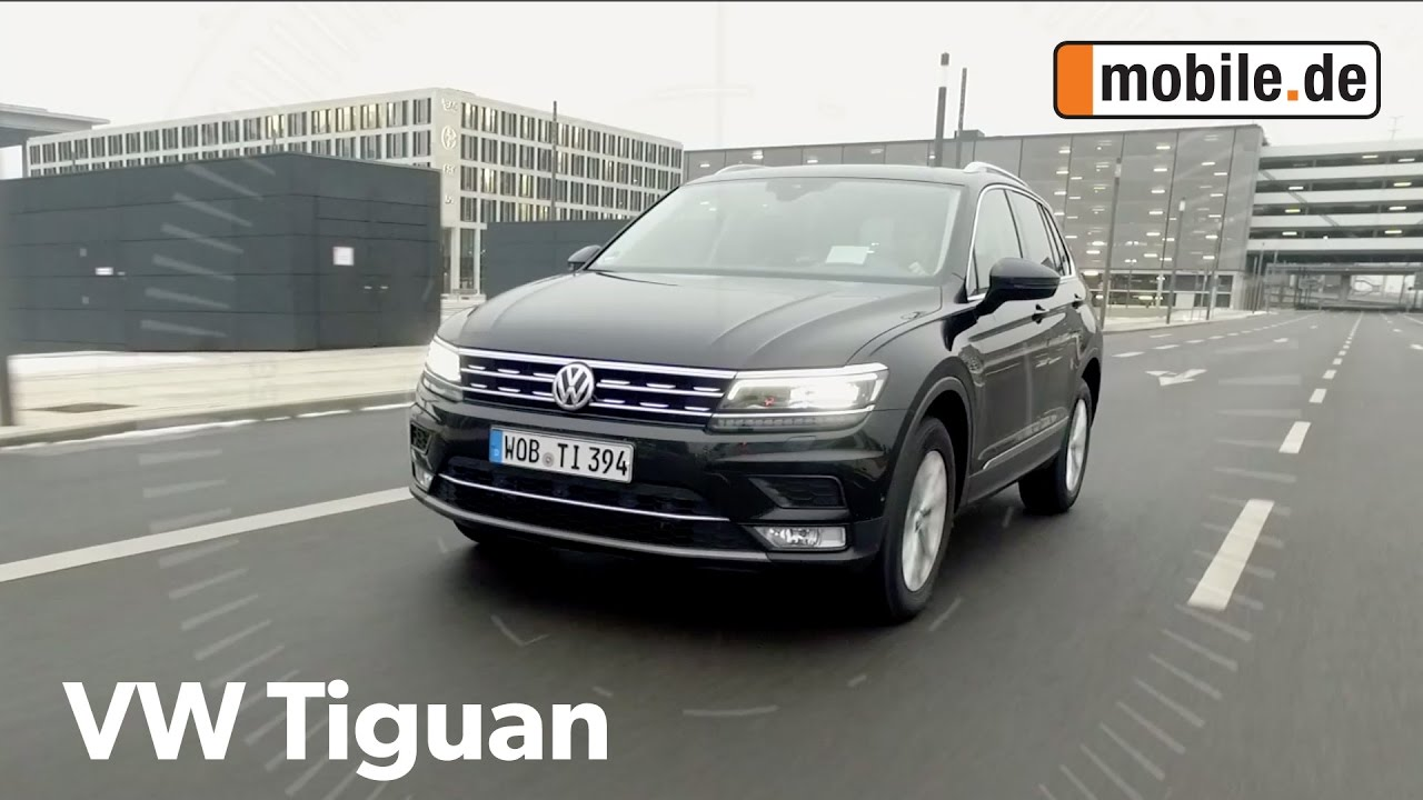 auto test volkswagen tiguan ii ab 2015 youtube. Black Bedroom Furniture Sets. Home Design Ideas