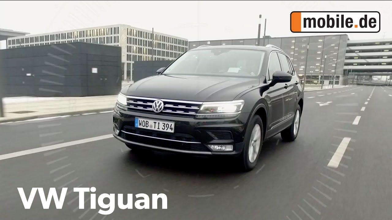 Auto Test Volkswagen Tiguan Ii Ab 2015 Mobilede Youtube