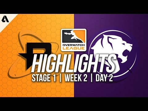 Philadelphia Fusion vs Los Angeles Gladiators ft Poko | Overwatch League Highlights OWL Week 2 Day 2
