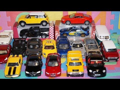 A Lot Of Cars Toys For Kids. Cars Cartoon - Car For Kids. Subaru Impreza| Мультик про машинки.