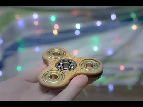 木製ハンドスピナー DIY 「Hand Spinner」