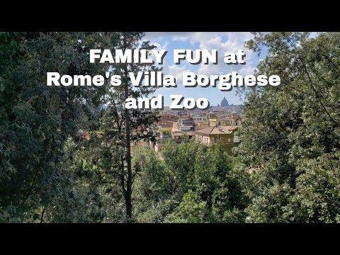 Family Fun At Villa Borghese And Bioparco Di Roma (Rome Zoo)