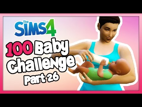 The Sims 4: 100 Baby Challenge - Part 26 - HER FIRST BABY!