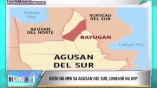 News@1: Kuta ng NPA sa Agusan Del Sur, nilusob ng AFP || June 19, 2014