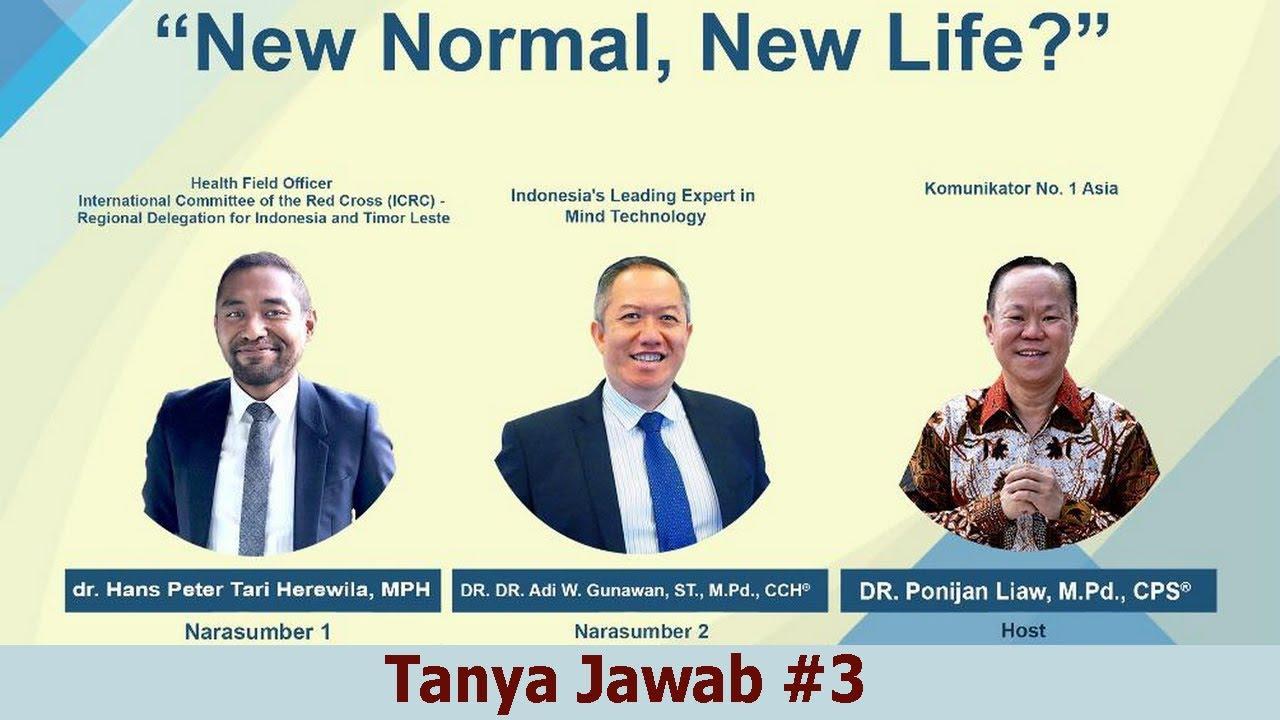 """""""New Normal, New Life"""" - Tanya Jawab #3"""